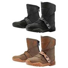 Icon Raiden Treadwell Impermeable Motocicleta Moto Botas Color & Tamaños