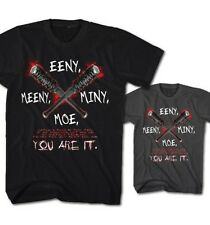 Camiseta Hombre eeny MINY MOE Usted Are It ! Negan Walking Dead Lucille mm1116