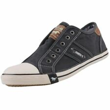NEUF Mustang Chaussures pour Hommes Toile Baskets BASSES décontractées