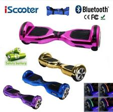 "6,5"" Patinete electrico patin scooter monociclo hoverboard skate Mando+Bluetooth"