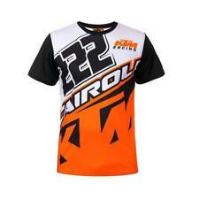 VR46 TONI CAIROLI TC222 T-SHIRT 2018 BIANCO ORANGE MOTOCROSS ENDURO MX T-Shirt