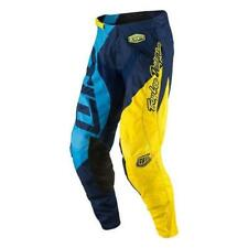 Troy Lee Designs GP Quest Pantaloni Motocross 2017 - BLU-GIALLO ENDURO MX CR
