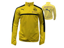 Puma Borussia Dortmund 1/4 Zip TrainingsTop gelb BVB 09 Fussball-Shirt XS - XL