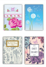 Diet Food DIARY WEIGHT LOSS PLANNER JOURNAL SLIMMING TRACKER A5 DIARY ROSE/GIRL