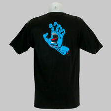 Santa Cruz Screaming Hand Back Print T-Shirt Black skateboard
