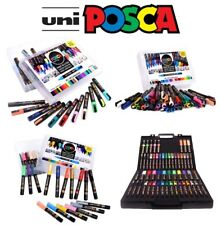 Posca Paint Marker Collection Uniball Marker Pen Gift Set (All Sizes & Sets)
