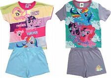 Girls My Little Pony Short Summer Pyjamas Pjs Ages 3 to 10 Years