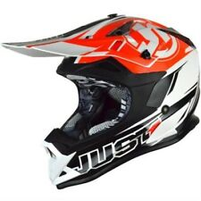 just1 Mx Casco - J32 Por Carrera - NEGRO-NARANJA Motocross Enduro MX Cross