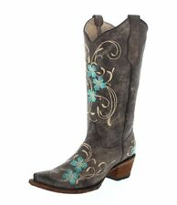 Circle G by Corral Boots Stiefel L5255 Braun Turquoise Damen Westernstiefel