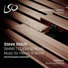 Lso Percussion Ensemble - Steve Reich: Sextet, Clapping Music, Music F NEW LP