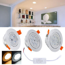 3/5/7W LED Foco empotrable ojos de buey sala de estar Downlight Dormitorio SMD