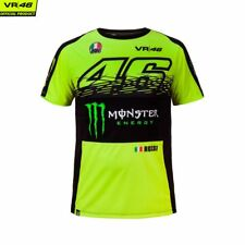 T-SHIRT UOMO VR46 OFFICIAL REPLICA MONZA MONSTER ENERGY 46 DRY FIT TG. S