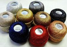 GRUNDL 3PLY 25G BALL YARN GLITTER CROCHET CRAFTS PINART WASHABLE VARIOUS COLOURS