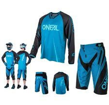 oneal MTB DOWNHILL ELEMENTO FREERIDE mountainbike BLU DH Combinato SHIRT breve