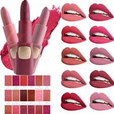 MISS ROSE Bullet Waterproof Makeup Soft Matte Velvet Lipstick Lip Gloss Cosmetic