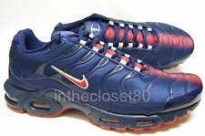 Nike Air Max Plus Tn Tuned Navy Blue Red PSG Mens Trainers AO9565 400