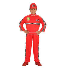 Boys Kids Childs Racing Driver Fancy Dress Costume Outfit Children 2-13 Yrs
