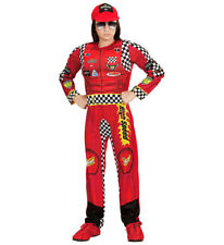 Boys Kids Childs Racing Driver Fancy Dress Costume Outfit Childrens 4-13 Yrs