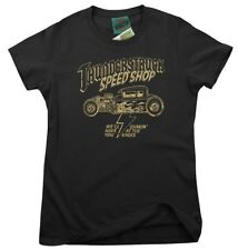 AC/DC inspired THUNDERSTRUCK Speed Shop, Donne T-Shirt
