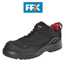 Scan Scafwcara Caracal Safety Trainers Black in Various Sizes