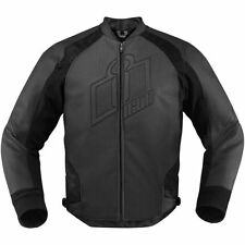 ICON HYPERSPORT STEALTH cuir Veste moto D3O toutes tailles
