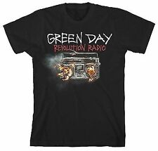 New Official GREEN DAY - REVOLUTION RADIO COVER T-Shirt