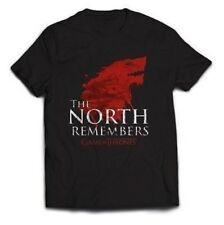 NUOVO UFFICIALE GAME OF THRONES - THE NORTH SI RICORDA T-Shirt