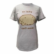 New Official PUSHEEN - SO LAZY (ROLLED SLEEVE) T-Shirt