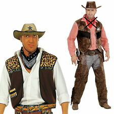 Cowboy Costume, Vest Hat Western Costume Carnival Costume Sheriff