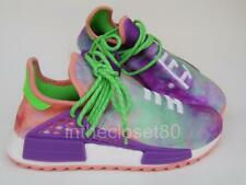 Adidas Pharrell Williams Hu Holi NMD MC AC7034 Chalk Coral Dye UK 8 US 8.5 EU 42