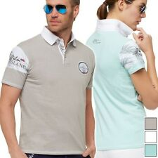 Nebulus POLO ISLANDS - colletto alto, Camicia [T561]
