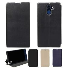For VKworld Mix Cell Phone PU Leather Slim Stand Flip Built-in Case Cover