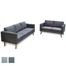 Sofa Polstersofa 2/3/5 Sitzer Stoffsofa Loungesofa Couch Holz Design Sitzmöbel