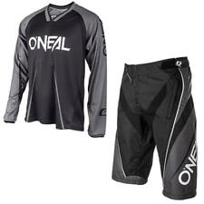 ONEAL ELEMENT FR BLOCKER MTB Jersey und Hose schwarz grau Mountainbike Downhill