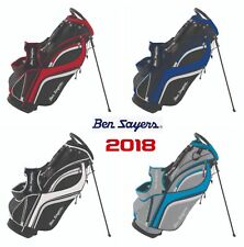 Ben Sayers 2018 Dual Strap Stand Carry Bag 14 Way Divider Top Golf Stand Bag