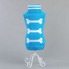 Dog Clothes Pet Winter Sweater Knitwear Puppy Clothing Warm Apparel Coat. L0664