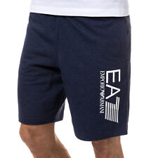 Mens Emporio Armani Ea7 Train Visibility Bermuda Croft Short In Black