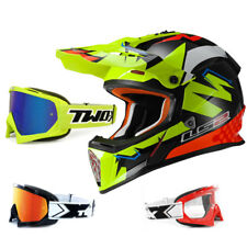 LS2 CASCO CROSS MX437 RÁPIDO VOLTIOS NEGRO AMARILLO NARANJA enduro two-x CARRERA
