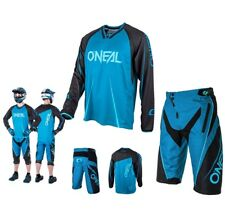 Oneal MTB Downhill Element Freeride Mountainbike blau DH Combo Shirt Short