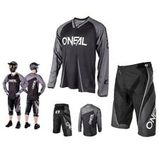 oneal MTB DOWNHILL ELEMENTO FREERIDE mountainbike Nero DH Combinato SHIRT breve