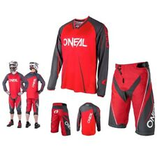 oneal MTB DOWNHILL ELEMENTO FREERIDE mountainbike ROSSO DH Combinato SHIRT breve