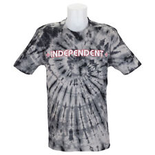 Independent Trucks Tie Dye Bar Cross T-Shirt Black skateboard