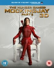 THE HUNGER GAMES - Mockingjay Part 2 3D+2D BLU-RAY NUOVO Blu-Ray (lib95301auv)