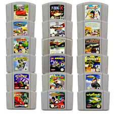 N64 JUEGO PAL DIDDY KONG RACING EXTREME F1 LEGO RACERS Mario Kart WAVE RACE