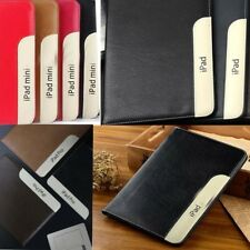 New Luxury Leather Smart Stand Case for ipad 5 6 air 2 Pro mini 2 3 4 2017 2018