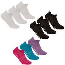 REDTAG Ladies 3 Pack Sports Gripper Sole Trainer Liner Socks 4-8