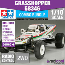 COMBO DEAL! 58346 TAMIYA THE GRASSHOPPER 1/10th R/C KIT RADIO CONTROL BUGGY