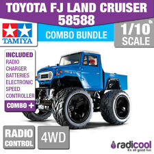 COMBO DEAL! 58588 TAMIYA TOYOTA FJ LAND CRUISER 1/10th R/C RADIO CONTROL KIT