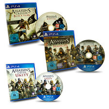 PS4 Spiel Assassin's Creed 4 Black Flag Chronicles Syndicate Special Edt. Unity