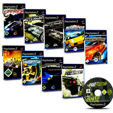 PS2 Spiel Need for Speed Carbon Most Wanted Pro Street Undercover Underground 2